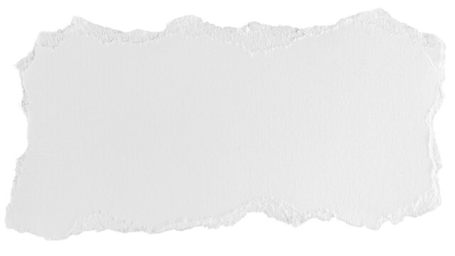a white piece of paper on an isolated white background