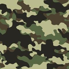 Fototapeta seamless camouflage pattern