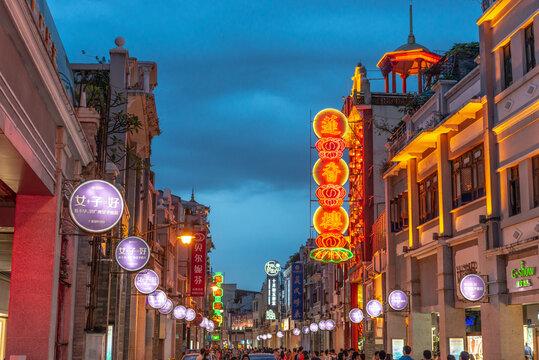 Guangzhou, China Shopping District