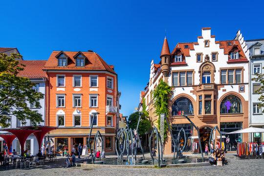 Altstadt, Ravensburg, Baden-Württemberg, Deutschland