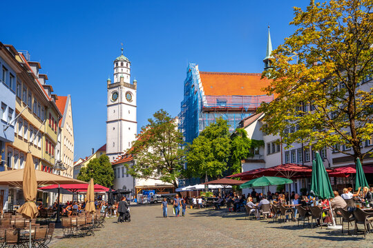 Blaserturm, Ravensburg, Baden-Württemberg, Deutschland
