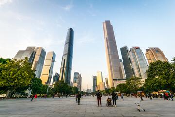 Guangzhou City - fototapety na wymiar