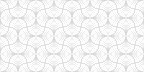 アール・デコのパターン Art Deco Seamless Pattern. Vector.