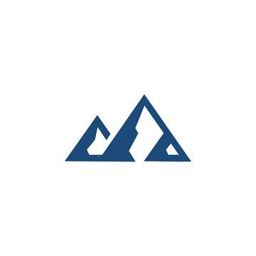 montain logo design, vector illustration concept