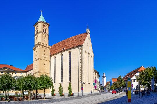 Stadtkirche, Ravensburg, Baden-Württemberg, Deutschland