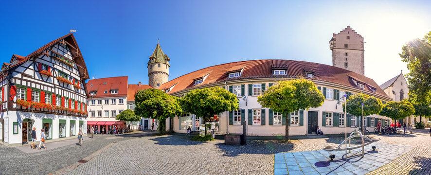 Grüner Turm, Ravensburg, Baden-Württemberg, Deutschland