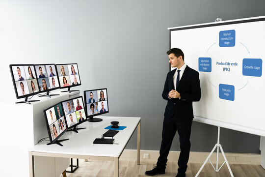 Online Live Training Video Conference With Coach