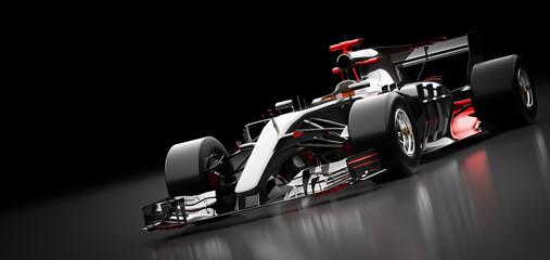 Acrylic Prints F1 Fast F1 car. Formula one racing sportscar.