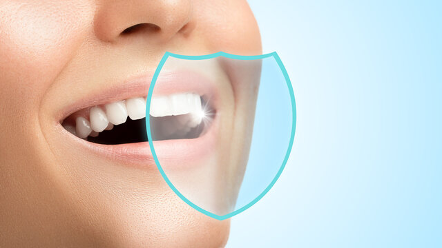 Teeth protected by good hygiene, products and dental care