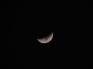 Obraz Low Angle View Of Moon In Sky At Night - fototapety do salonu