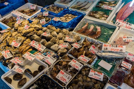 海鮮市場 魚介類