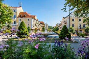 Spa center of Frantiskovy Lazne (Franzensbad) - Czech Republic