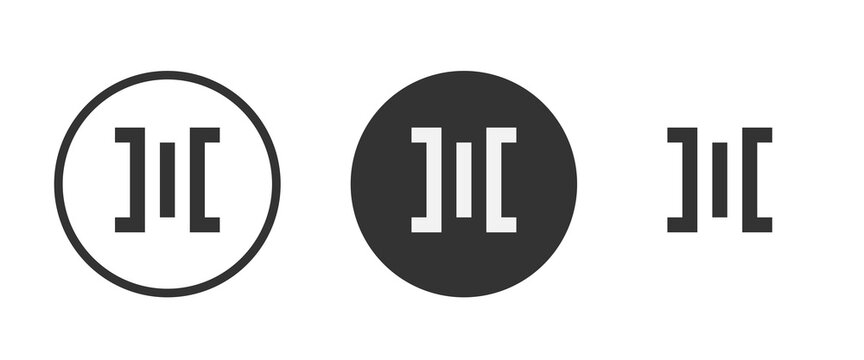 space between icon . web icon set . icons collection. Simple vector illustration.