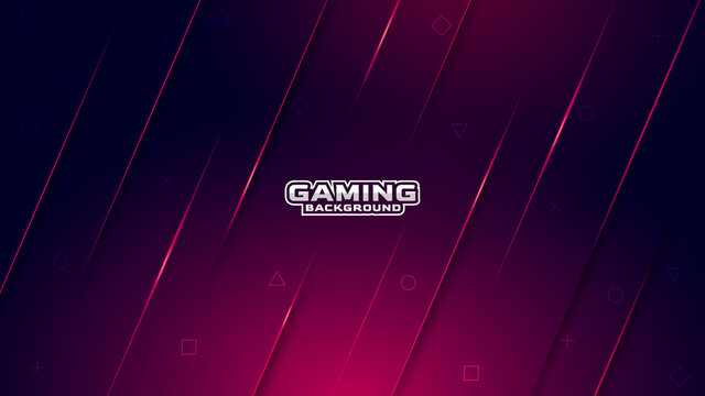 Abstract gaming background with modern luxury ray style