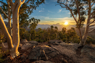 Sunset at White Gum Lookout