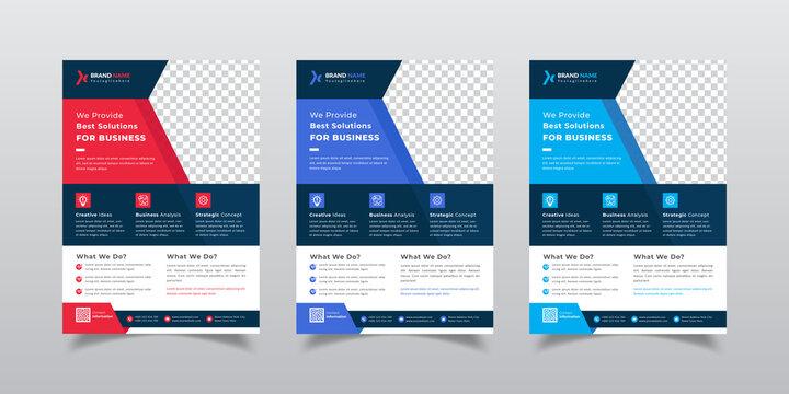 Business Corporate Flyer Template Design