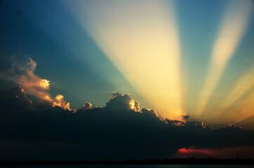 Obraz Scenic View Of Dramatic Sky During Sunset - fototapety do salonu
