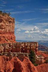 Park Narodowy Bryce Canyon - formacje skalne - fototapety na wymiar