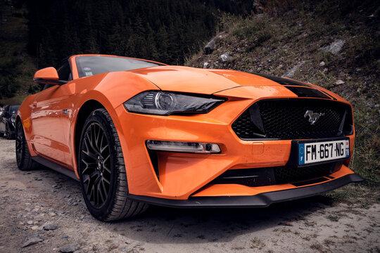 Ford Mustang GT Orange Fury