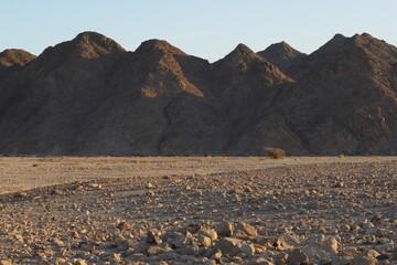 Obraz Scenic View Of Rocky Mountains Against Clear Sky - fototapety do salonu