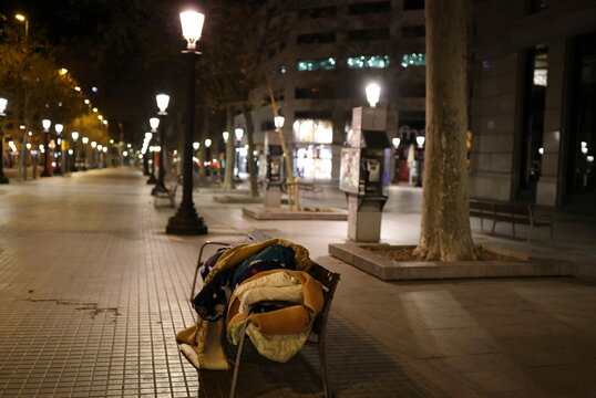 Cold wave in Spain