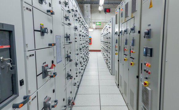Electrical switch gear low Voltage motor control center cabinet in power plant,Breaker module,Electrical selector switch,button switch