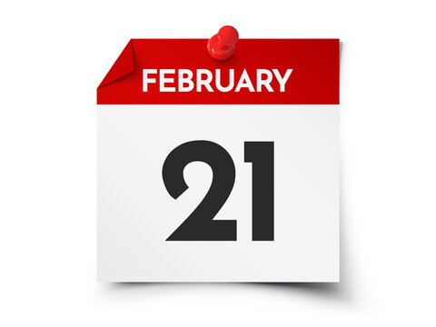 February 21 day calendar