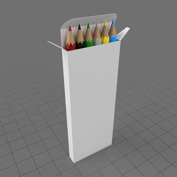 Colored pencil box 3