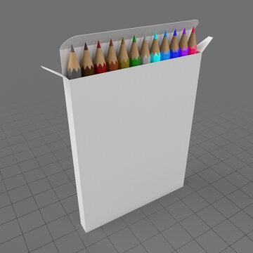 Colored pencil box 2
