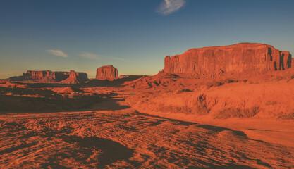 Wall Mural - Raw Arizona Monuments Valley Scenic Panorama