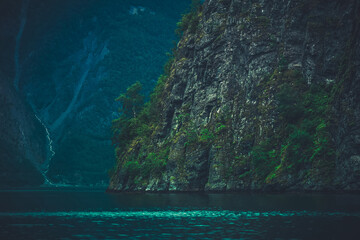 Wall Mural - Scenery of Norwegian Fjords