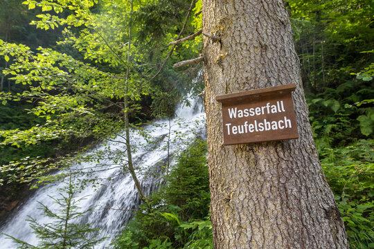 Wasserfall Teufelsbach