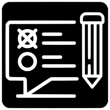 start online survey icon outline style vector Outline, Black, Online, Start, Icon, Survey, Isolated, Web, Vector, Design, Symbol, Process