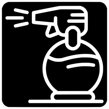 stylist spray icon outline style vector Spray, Outline, Icon, Black, Line, Tan, Stylist, Fashion, Isolated, Vector, Style, Design