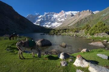 Trekking im Fan-Gebirge Tadschikistan