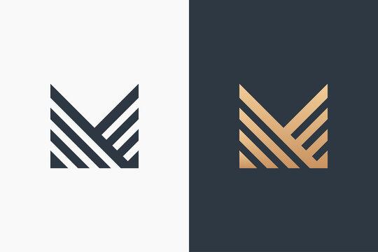 Letter M Logo Template Design Vector Illustration Design Editable Resizable EPS 10