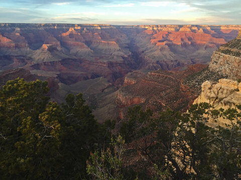 Grand Canyon from the south rim in Arizona