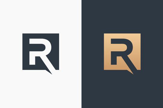 Letter R Logo Template Design Vector Illustration Design Editable Resizable EPS 10