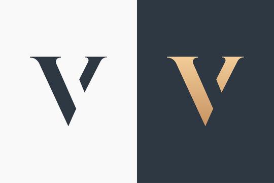 Letter V Logo Template Design Vector Illustration Design Editable Resizable EPS 10