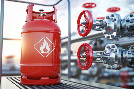 Production, delivery and filling with natural gas of lpg gas bottle or tank.