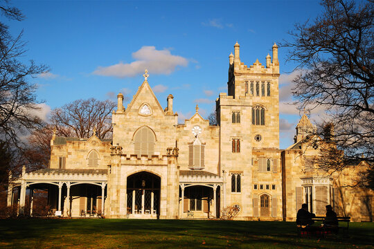 The Lyndhurst Castle is a historic home in The Hudson Valley