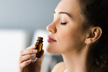 Fototapeta Aromatherapy Essential Oil Smell Therapy