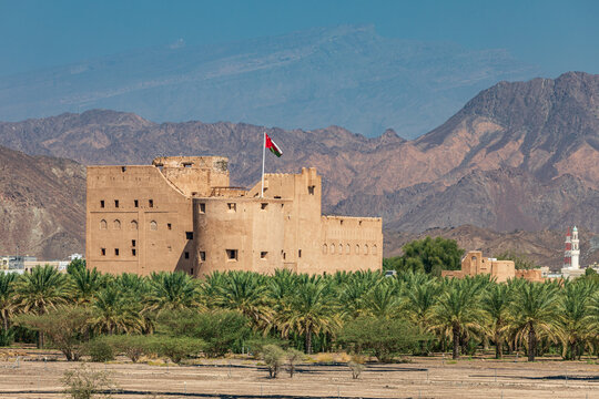 Jabreen Castle in Bahla, Oman.