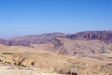 Fototapeta Scenic View Of Desert Against Clear Sky obraz