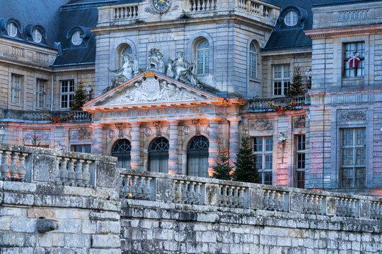 Vaux-le-Victomte à Noël