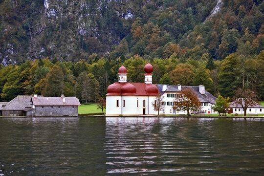 Church St. Barths on Koenigssee