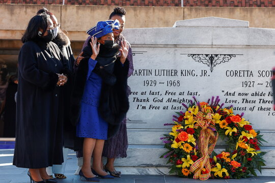 Martin Luther King Jr. Day in Atlanta, Georgia