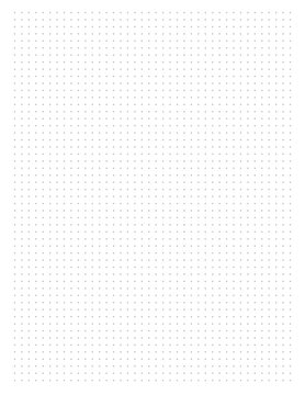 Dot Grid Graph Paper for writing journals a daily. Sketching and Designing size  8.5 inch x 11 inch   Dot Grid Graph vector