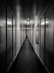 Fototapeta corridor in the corridor obraz