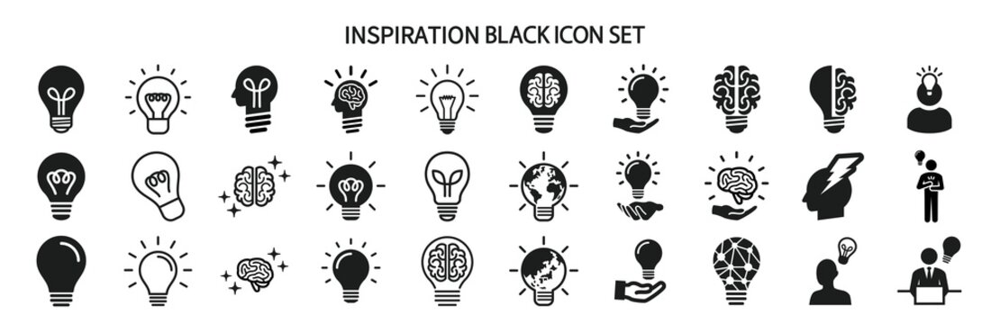Various icon sets for inspiration